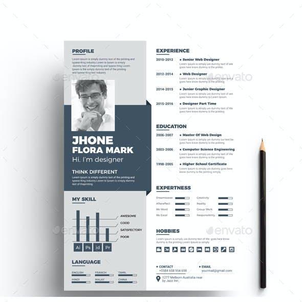 Resume CV Template Bundle