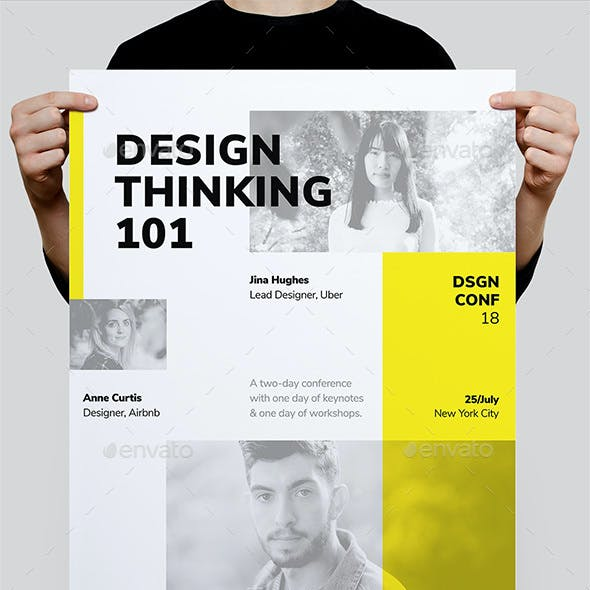 DSGN Series 5 Poster / Flyer Template