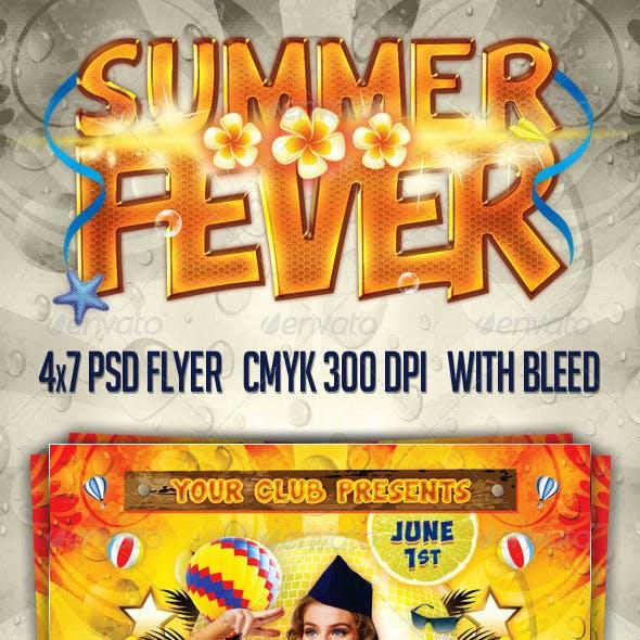 Summer Fever Flyer
