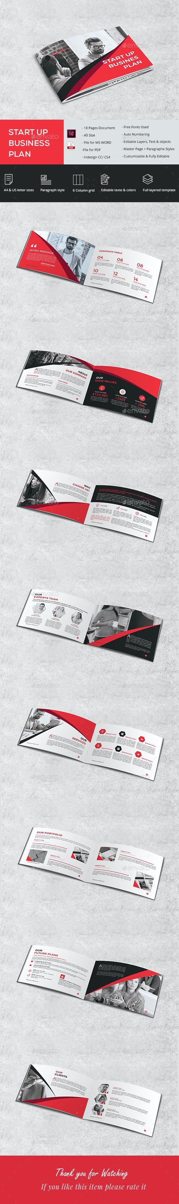 A5 Startup Proposal - Brochures Print Templates