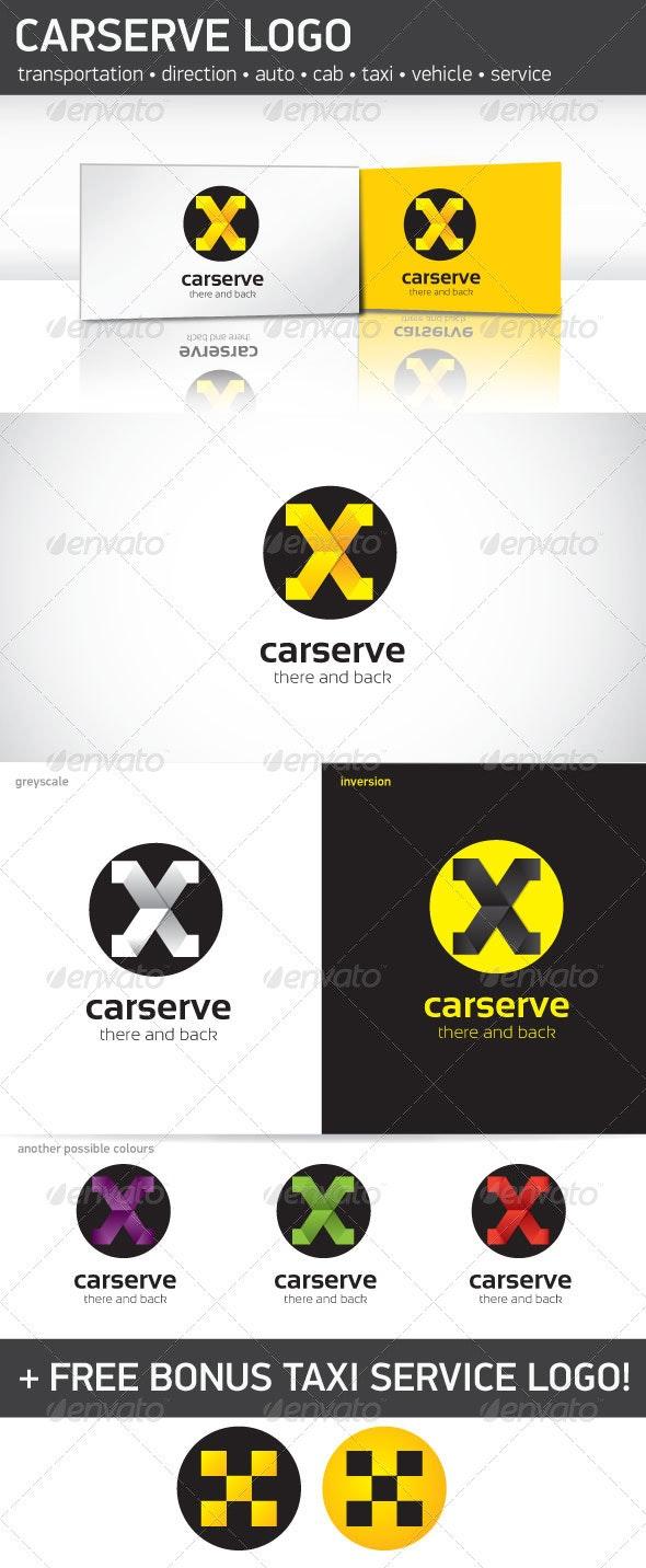 Car Serve Logo Template - Letters Logo Templates