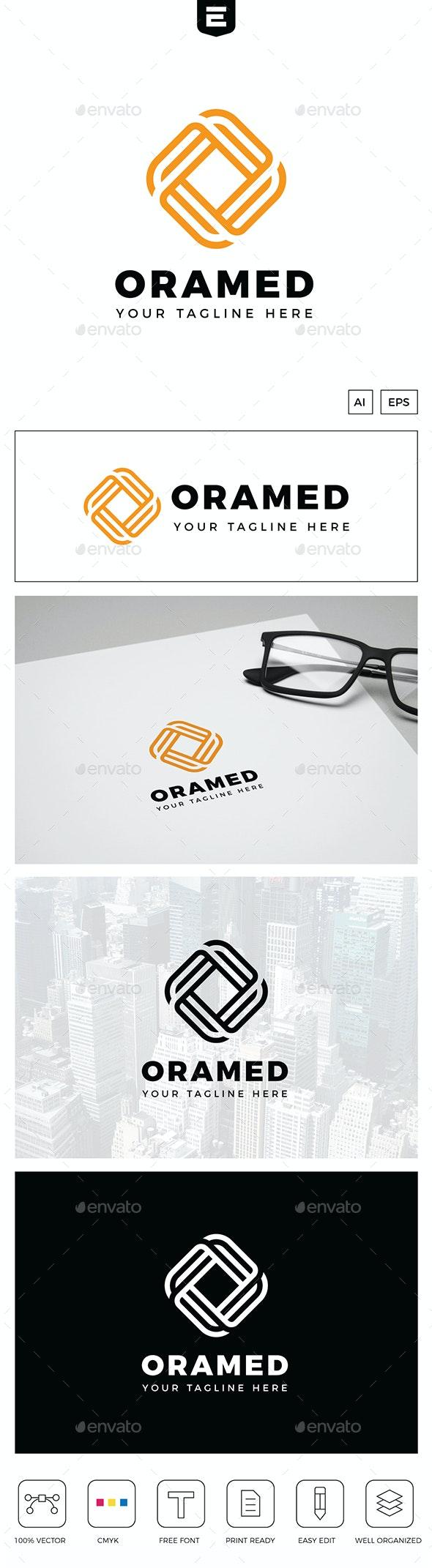 Letter O Media Logo