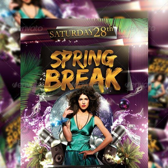 Spring Break Party Flyer Vol_7