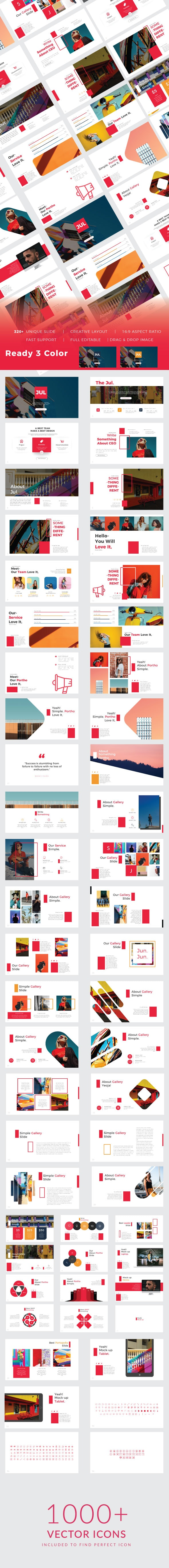 Jul. Creative Google Slide - Google Slides Presentation Templates