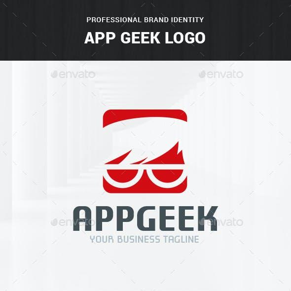 App Geek Logo Template