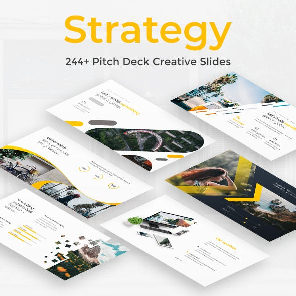 Strategy Pitch Deck Google Slide Template