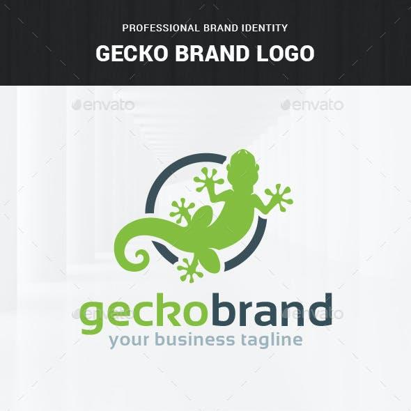 Gecko Brand Logo Template