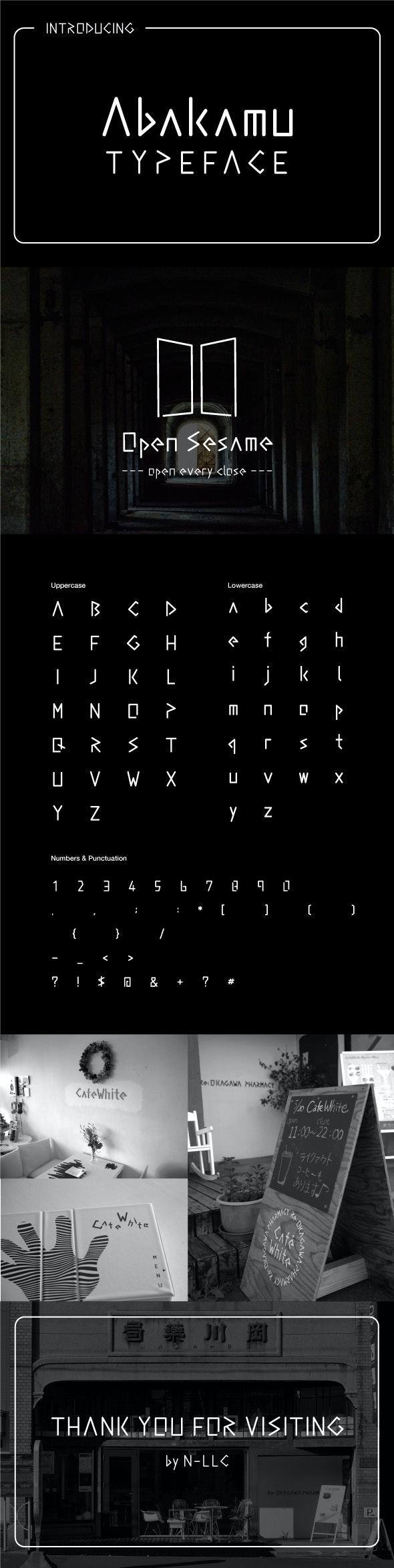 Abakamu - Sans-Serif Fonts