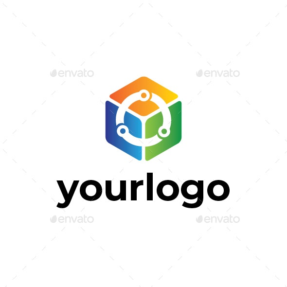 Cubelink Logo - Vector Abstract