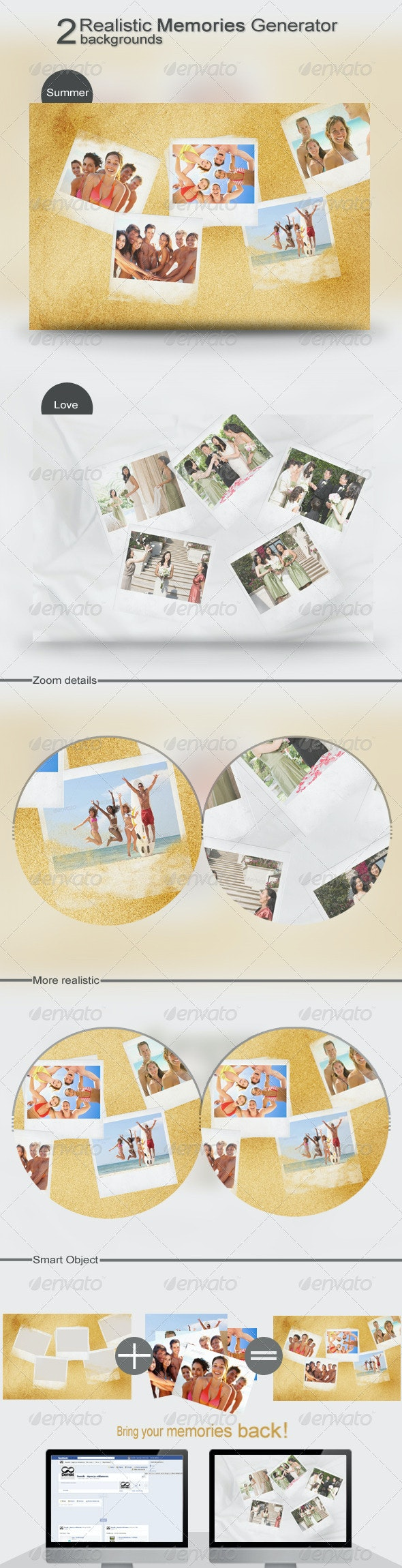 Realistic Memories Generator - Miscellaneous Backgrounds