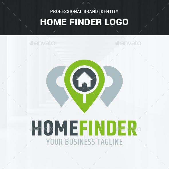 Home Finder Logo Template