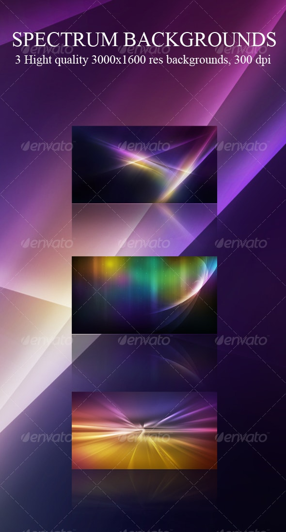 Spectrum Abstract Backgrounds - Backgrounds Graphics