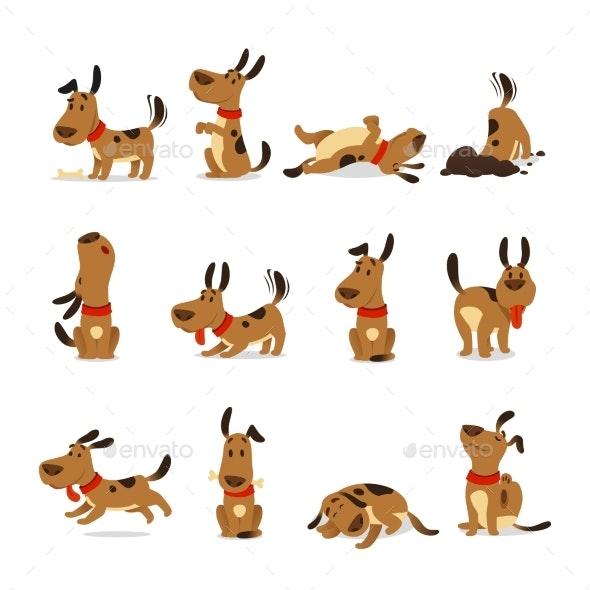 Cartoon Dog Set - Animals Characters