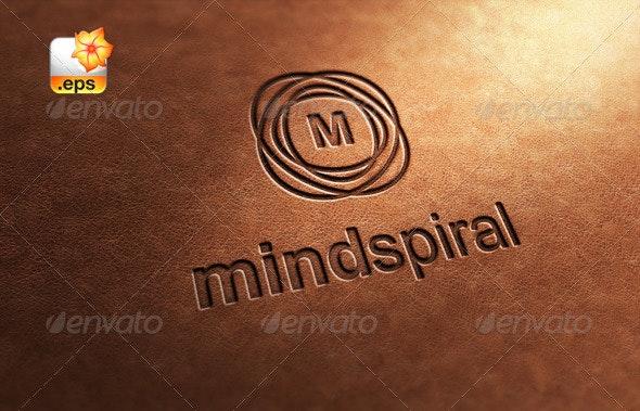 Mind Spiral - Letters Logo Templates