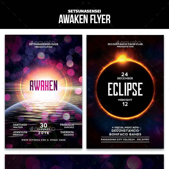 Awaken and Eclipse Flyer