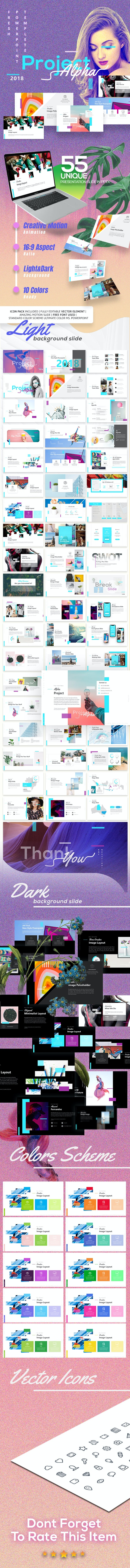 Project Alpha - Creative Powerpoint Template - Creative PowerPoint Templates