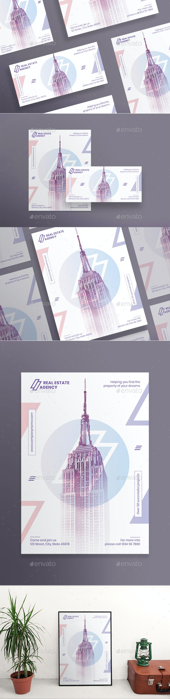 Real Estate Agency Flyers - Corporate Flyers