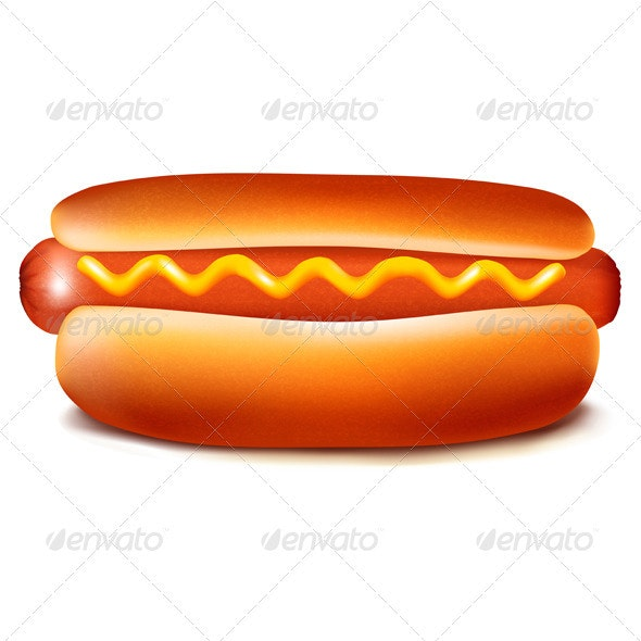 Hot Dog - Food Objects