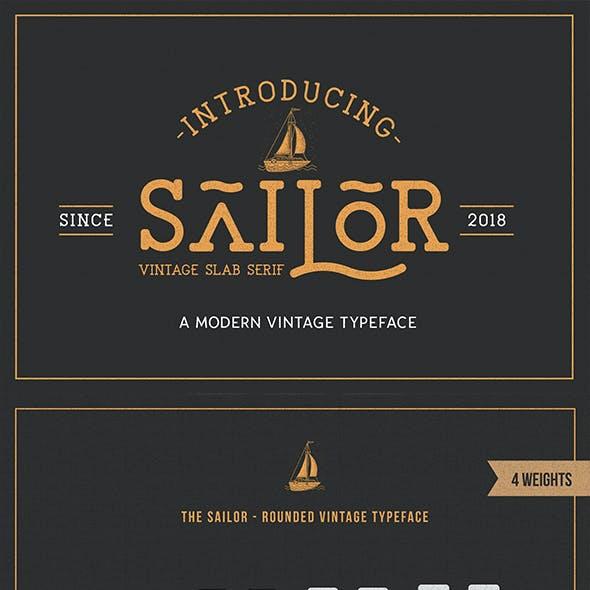 The Sailor - Modern VintageTypeface