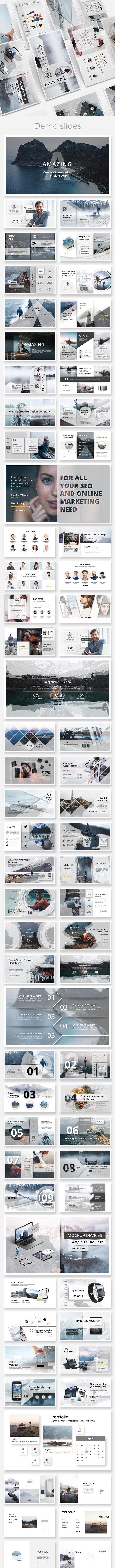 Apollo 2019 - Creative Keynote Template - Creative Keynote Templates