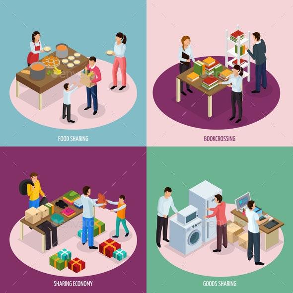 Sharing Economy Design Concept - Miscellaneous Conceptual