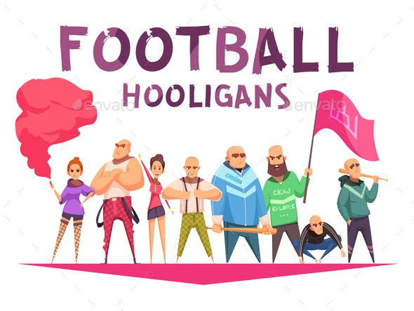 Hools Union Characters Background - Sports/Activity Conceptual