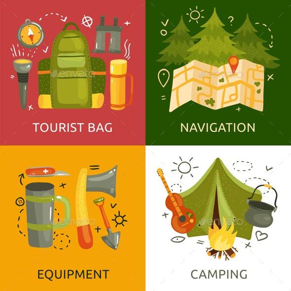 Camping 2x2 Design Concept - Travel Conceptual