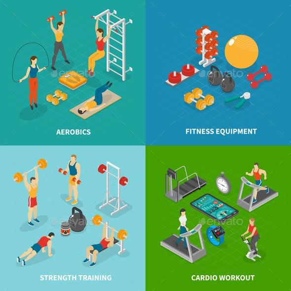 Workout Fitness Design Concept - Sports/Activity Conceptual