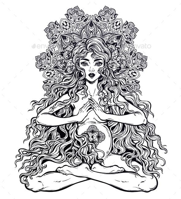 Sacred Motherhood. - People Characters