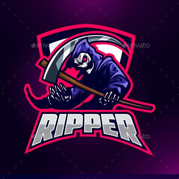 Esports Grim Reaper Logo