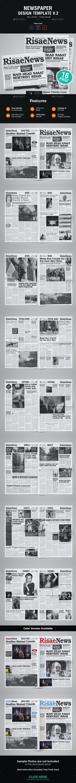 16 Page Newspaper Design v2