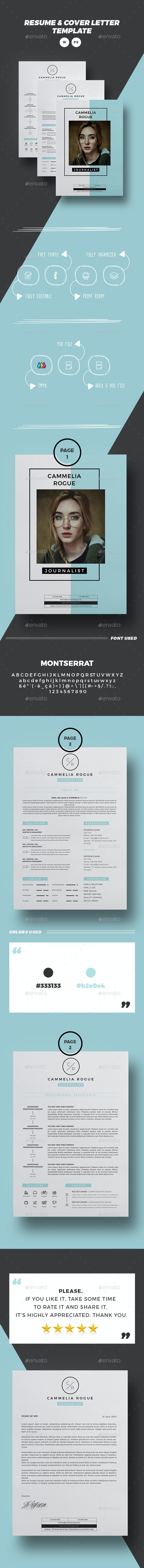 Resume 3 pages & Cover letter - Resumes Stationery
