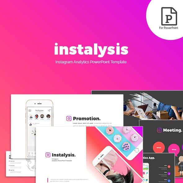 Instalysis - Analytics PowerPoint Template