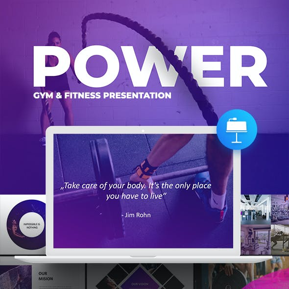 Power - Premium Keynote Presentation