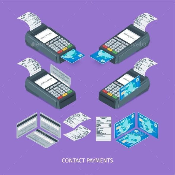Contact Payment Terminal - Concepts Business