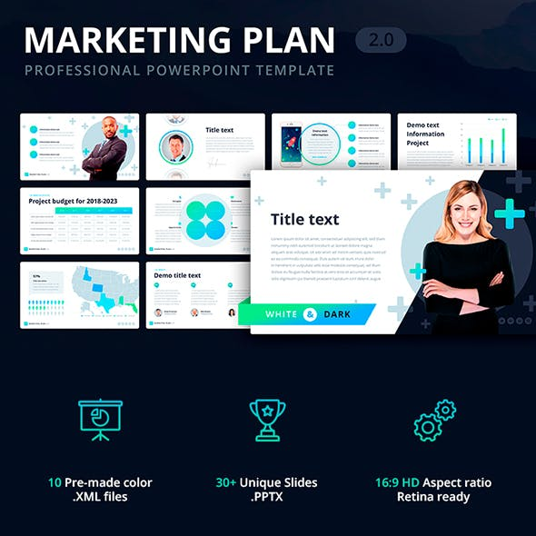 Marketing Plan 2.0 Template for PowerPoint