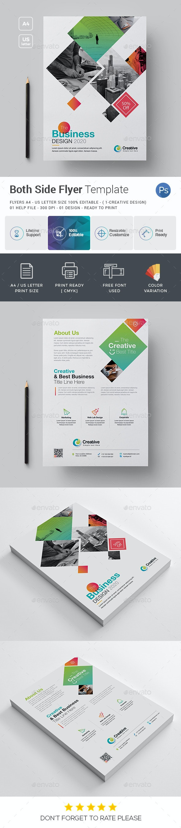 Both Side Flyer - Corporate Flyers