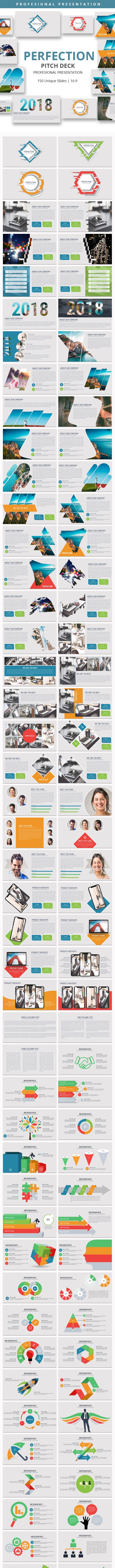 Perfection Pitch Deck Powerpoint Presentation - Business PowerPoint Templates