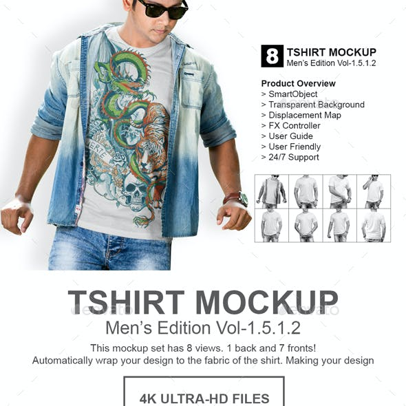 Mens Tshirt Mockup Vol 1.5.1.2