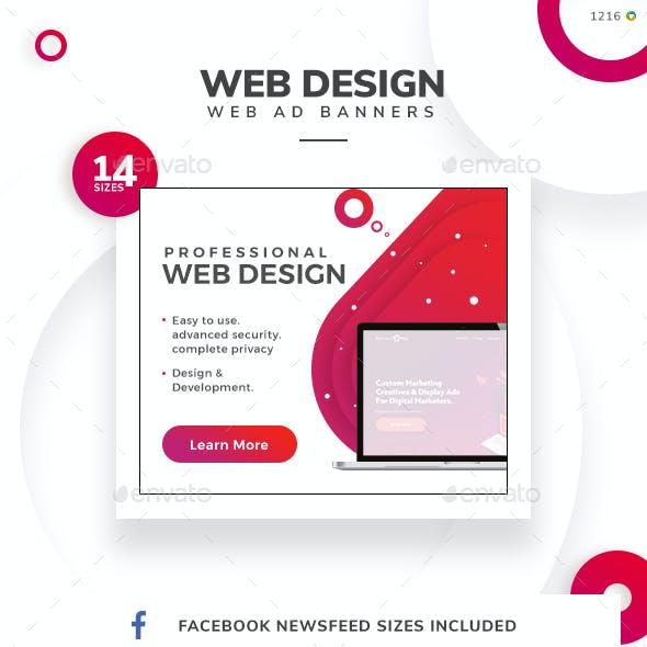 Web Design Banner Set