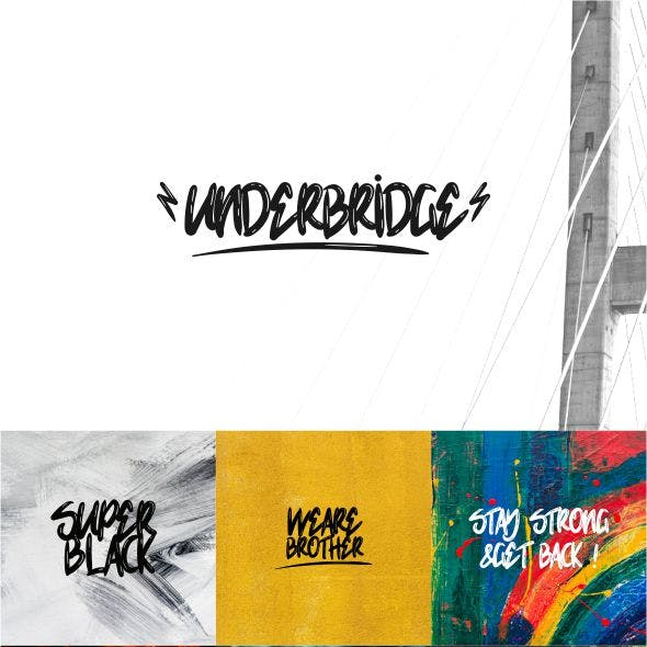 Underbridge Wet Font