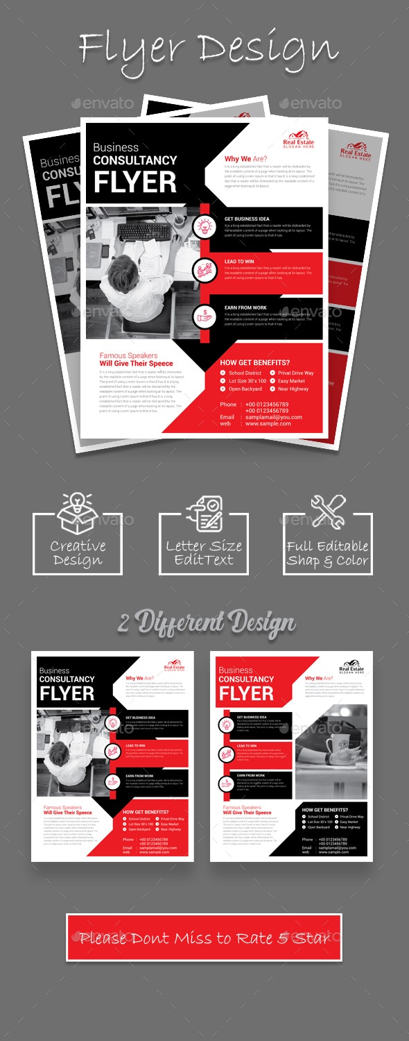 Flyer Design - Corporate Flyers