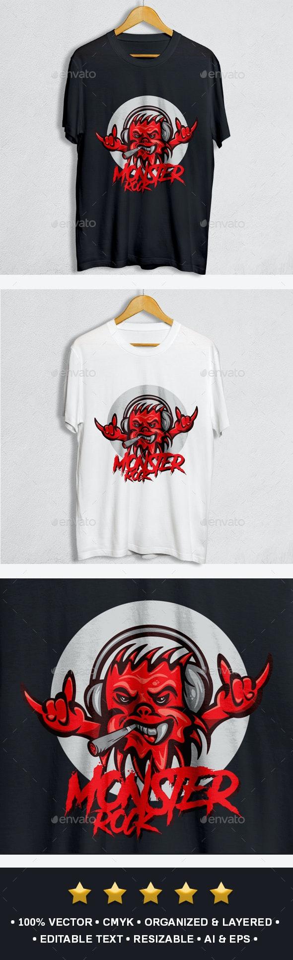 Monster Rock Design