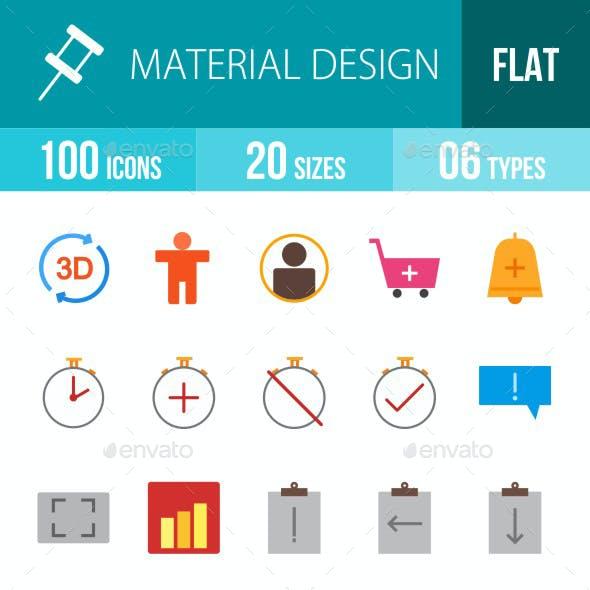 Material Design Flat Multicolor Icons