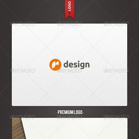 R Design Logo Template