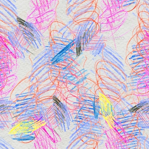 Scribble Hand Drawn Pattern - Abstract Illustrations