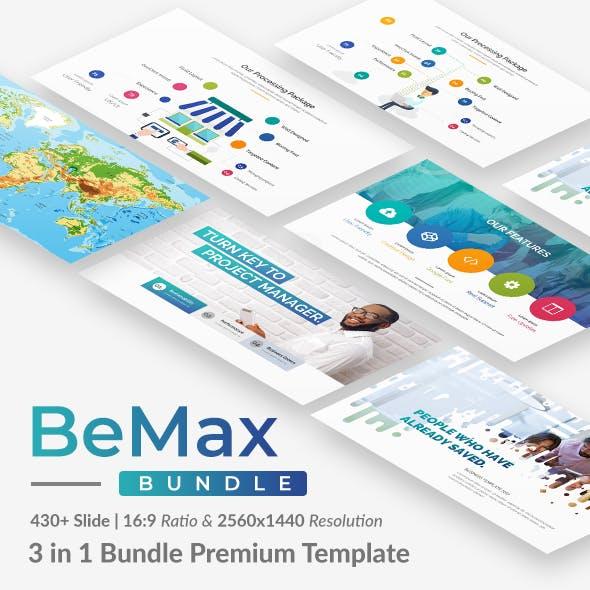 BeMax Premium 3 in 1 Bundle Google Slide Template