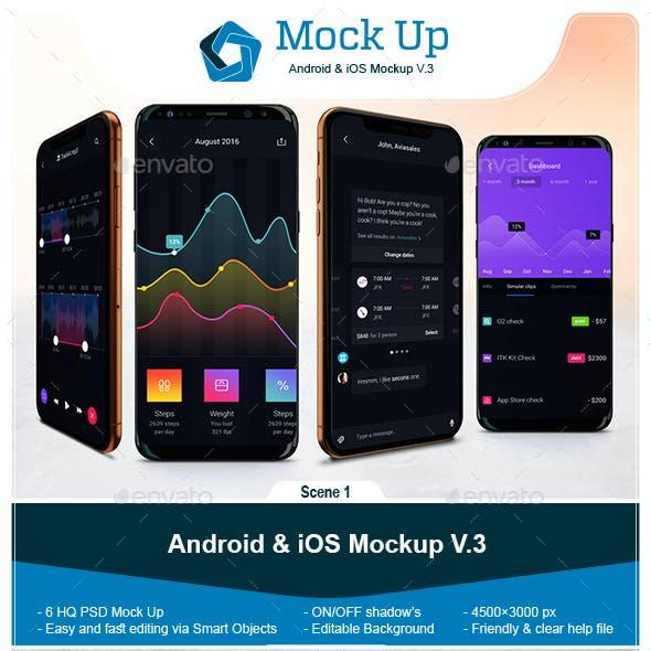 Android & iOS Mockup V.3