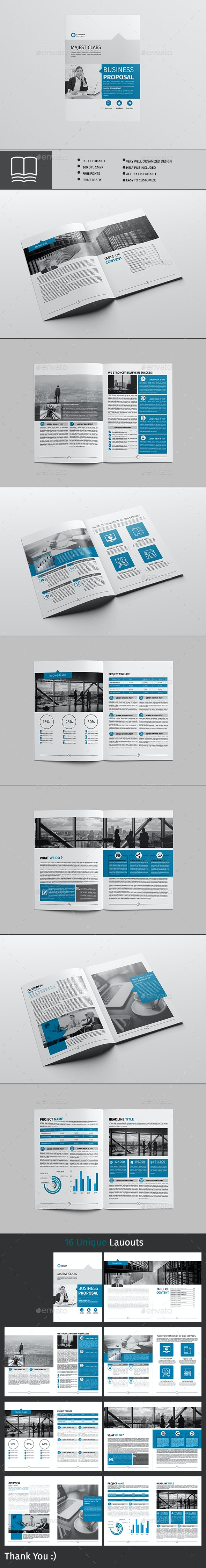 Proposal - Brochures Print Templates
