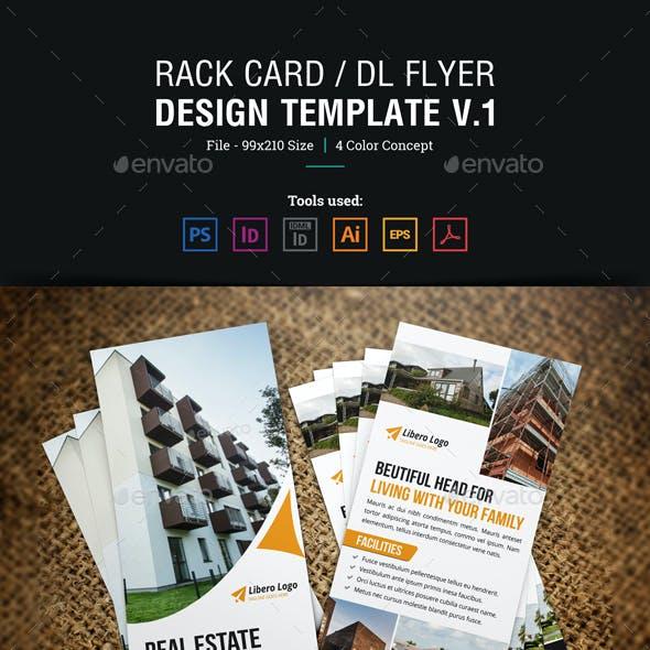 Rack Card DL Flyer Design v1